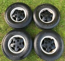 "Genuine Land Rover 16"" Alloys + Tyres 235/85R16 