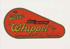 Webb Whippet Vintage Mower Chain Cover Decal