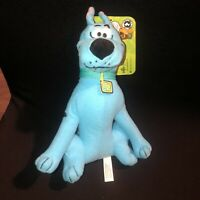 "New 9"" Scooby-Doo Plush Ghost Scooby ?  Neon Blue Color Toy Factory Cute w/tag"