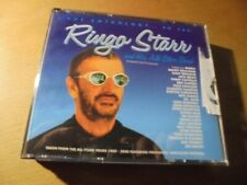 RAR 3 CD'S. RINGO STARR. THE ANTHOLOGY...SO FAR. GOLD CD'S