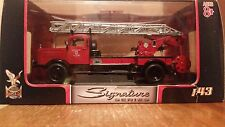 Yat Ming Signature Series 1944 Mercedes Benz T4500F Fire Truck Die-cast 1:43-NIB
