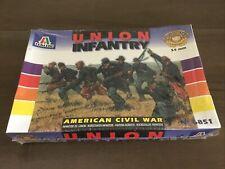 Italeri 6851 American Civil War Union Infantry 16 Figure Set 54mm New Sealed