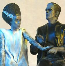 The Bride and the Monster – Limited Edition Bronze (Karloff & Lanchester)