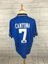 Men's Manchester United 3rd Shirt 1996/97 - XXL - #7 CANTONA - Great Condition