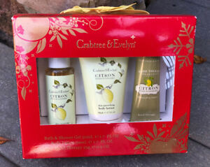 CITRON Honey & Coriander Crabtree & Evelyn Body Gel, Hand Therapy, Body Lotion