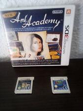 New Art Academy  y Tetris Nintendo 3DS PAL lote de 2 juegos.