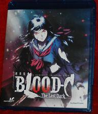 Blood-C: The Last Dark (BLU-RAY 1 DISC, 2013) FUNIMATION ANIME MOVIE SET