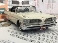 Danbury/Franklin mint 1:24 1959 Pontiac Bonneville classic model boxed rare 18