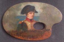 Portrait de Bonaparte par Camillo Miola Huile sur palette