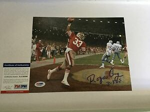 Roger Craig Signed 8x10 Photo SF San Francisco 49ers PSA DNA COA Autographed j