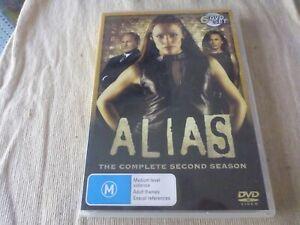 Alias : Season 2 (DVD, 2007, 6-Disc Set) Region 4  Jennifer Garner