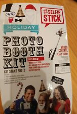 Selfie Stick wired control with props holiday Christmas new years party pics