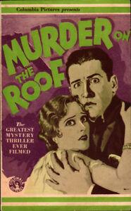Murder on the Roof Original 1930 Herald starting Dorothy Revier Raymond Hatton