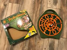 Roll-A-Hose 50ft Retractable Seen On Tv Flat Easy-Wind Lightweight Hose Patented