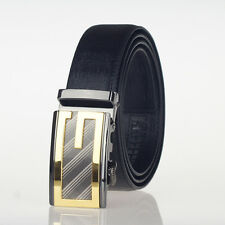 Matin  Men leather belt (sliding) ,SH22031 (black) S  to 50''
