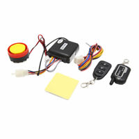 2 Vías Sistema Alarma Kit Antirrobo Universal para Moto 125dB Controlador Remoto
