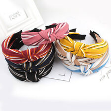 Women's Headband Nonslip Band Top Fashion Headband Twist Knot Hairband Head Wrap