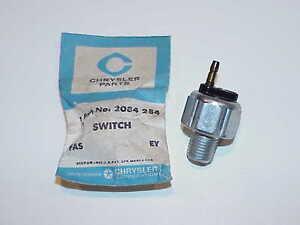 1955 56 57 58 59 60 61 NOS MoPar STOP LAMP SWITCH Chrysler 300 Fury D500 DeSoto