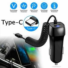 Car Charger USB C For Samsung S7 S8 S9 S10 S20 Note10 Type C Micro HUAWEI Cable