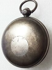 EARLY SILVER HUNTER  POCKET WATCH  CASE ONLY WITH CIRCA 1824