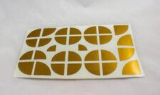 Gold Emblem Ecken Aufkleber BMW E30 E36 E38 E39 E46 E60 E87 E90 F20 F30 F80