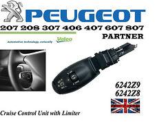 PEUGEOT 207 208 307 406 407 607 807 partenaire cruise control unit avec limiteur nouveau