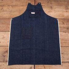 Mens Vintage Wards Powr House 1950s Blue Selvedge Denim Workwear Apron XR 10165