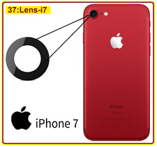Apple iPhone 7 4.7 Genuine Replacement Rear Glass Camera Lens Part Adhesive 2X