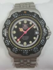 TAG Heuer Formula 1 Professional Black Dial Stainless Steel Men's Watch 377.513