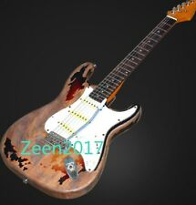 Handmade Relic Custom ST Electric Guitar Aged in Outlooking New in Condition
