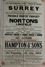 More details for surrey nortons lingfield country house 1933 sale property poster    e3.300
