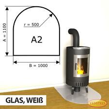Kamin Glasbodenplatte Funkenschutz Kaminplatte Glas Ofen Platte Bodenplatte - A2