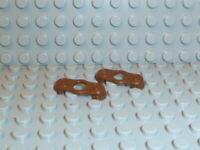 LEGO® Piraten 2x Schulterklappen Epaulette braun 2526 6274 6277 6286 6271 K383