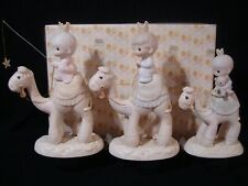 Precious Moments-Regular/Large Nativity Additions-Three Kings On Camels-$475V