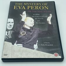 """""""The Mystery of Eva Peron: The True Story of Evita"""" DVD OOP 2008 Biography"""