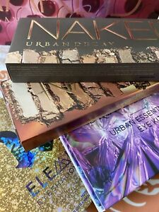 URBAN DECAY BNIB MAKEUP LOT FULL SIZE NAKED HEAT ELEMENTS EYE KIT 100% AUTHENTIC