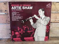 ARTIE SHAW Reissued By Request LP Record Album Vinyl