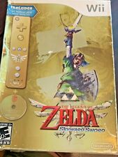The Legend of Zelda Skyward Sword 25 Anniv Bundle (Wii) WORN OUTER SEALED BOX