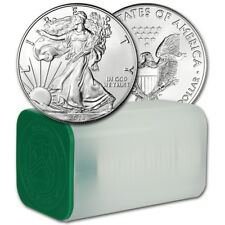 2018 American Silver Eagle (1 oz) $1 - 1 Roll - Twenty 20 BU Coins in Mint Tube