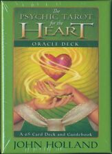 NEW John Holland The Psychic Tarot for the Heart Oracle Cards Deck