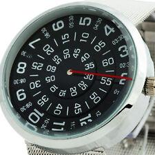 Top del arte deportivo de lujo de línea número reloj mujeres de los hombres 9856