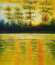 "Impressionist Oil Painting,""Landscape"", modern home decor, 20""x24"""