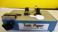 TAAB-PYPER ULTRA MICROTOME GLASS KNIFE-MAKER READING ENGLAND USED