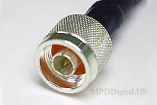 LMR-400 PL-259 Times Coaxial  RF Cable 40 feet PL259 UHF Male to N Male 40 Ft