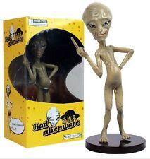 "Head Play BAD ALIEN ""PAUL"" Comedy Movie Figure Nude Middle Finger 22cm Figurine"