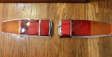 RENAULT ALPINE A110 R8 GORDINI REAR TAIL LAMPS TAILLIGHTS LE MANS