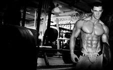 """034 Greg Plitt - American Fitness Model Actor 38""""x24"""" Poster"""