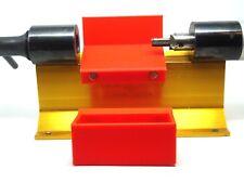 New Brass case shavings catcher basket upgrade, for the Forster trimmer (red)