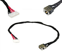 DC POWER JACK w/ CABLE HARNESS ASUS F751 R510C X450 X751 CHARGING PORT CONNECTOR