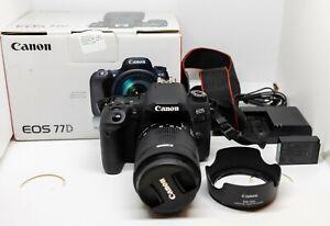 Canon EOS 77D + Canon 18-55